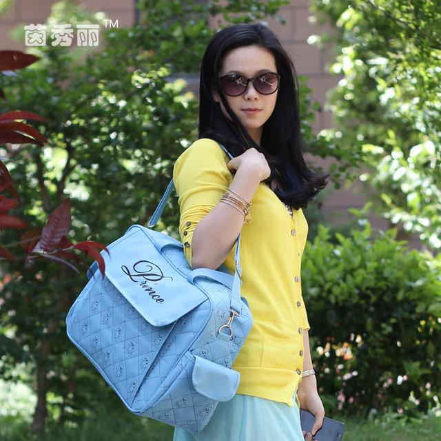 Хиты 2014 продажа мода большой емкости пеленки младенца сумки пеленки мешок дешевые ...