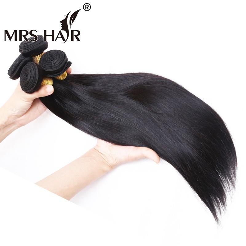 Best 7A Unprocessed Virgin Hair 4 Bundles Straight Brazilian Hair 100 Human Hair Weave Mocha Hair Brazilian Straight Virgin Hair