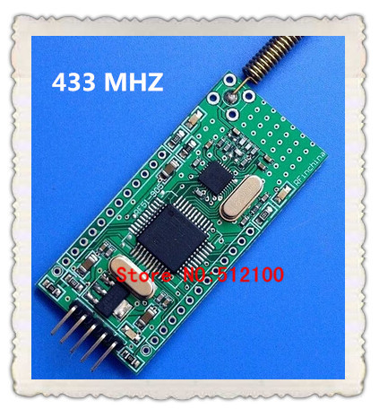 2pcs 433 MHZ band for RFID application integration NRF905 programmable custom functions(China (Mainland))