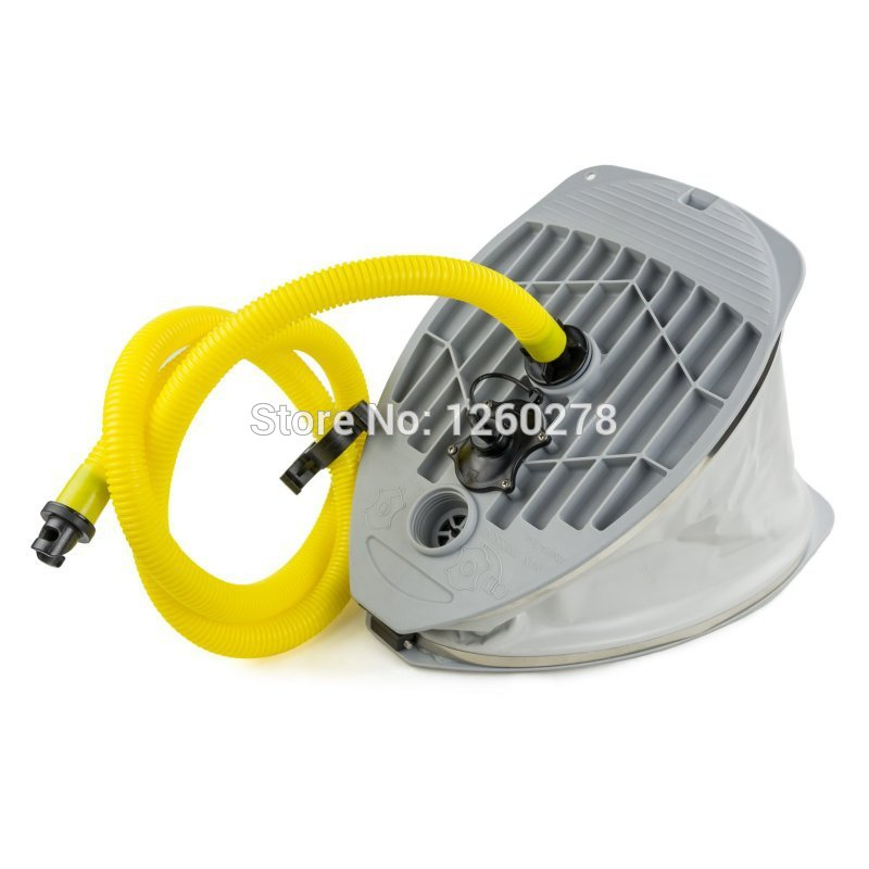 Heavy Duty High Pressure Inflatable Boat Rib Dinghy Foot Pump with Hose(China (Mainland))