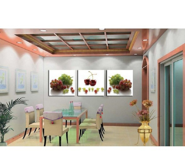 Buy free shipping 100 hand painted oil painting home decor restaurant wall - Home decor promo code paint ...