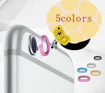 Cool Rear Camera Lens Metal Protective Ring Guard Circle Cover Case Protector iPhone 6 4.7 & Plus 5.5inch LP47B - SXD International Ltd store