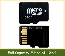 Full Capacity 32GB Memory Card  Micro SD Card 16GB 8GB 4GB 2GB 128MB Transflash  TF Card Class 10 Free Adapter & Card Reader(China (Mainland))