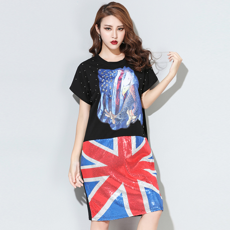 Sequin Union Jack Dress Promotion-Shop for Promotional Sequin ...