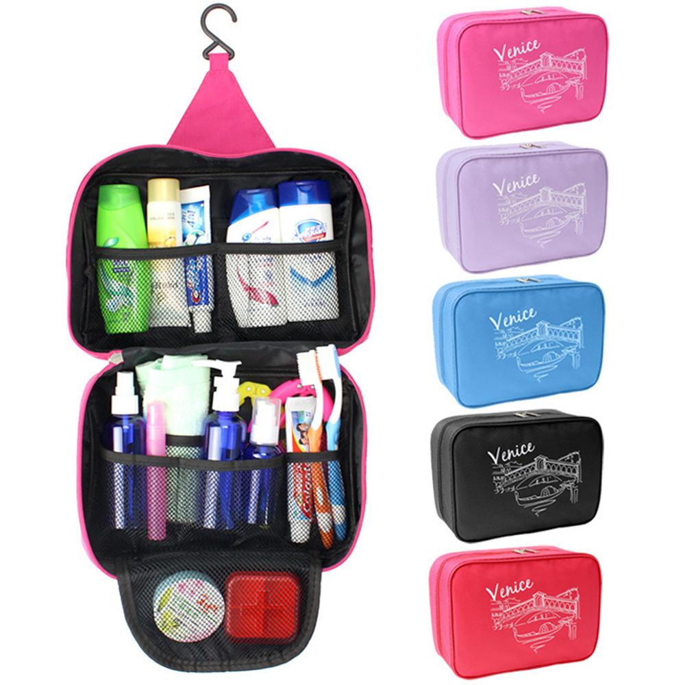 Venice Waterproof Travel Cosmetic Makeup Bag Case Toiletry Organizer Pouch Gifts Free Shipping New High Quality Best Fashion(China (Mainland))