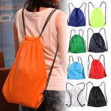 2016 New Premium School Drawstring Duffle Bag Sport Gym Swim Dance Shoe Backpack(China (Mainland))