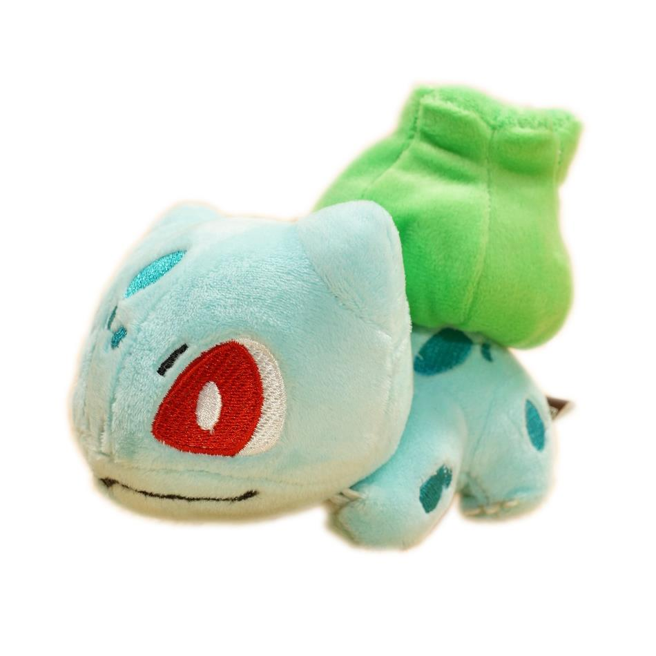 Pokemon Plush Peluche Pikachu Fluffy Plush Toys Bulbasaur 1pcs 15cm The Anime Cute Mini Toys Kids Gifts 1037(China (Mainland))