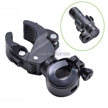 free shipping Multifunction Universal clamp bicycle flashlight lighthouse bike clip mounting bracket DIY equipmet tool part