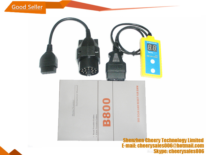 B800 (SRS) For BMW Airbag Scan/Reset Tool(China (Mainland))