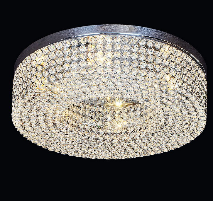 Nest design crystal chandelier lamp with LED E14 * 6 Dia 500mm(China (Mainland))