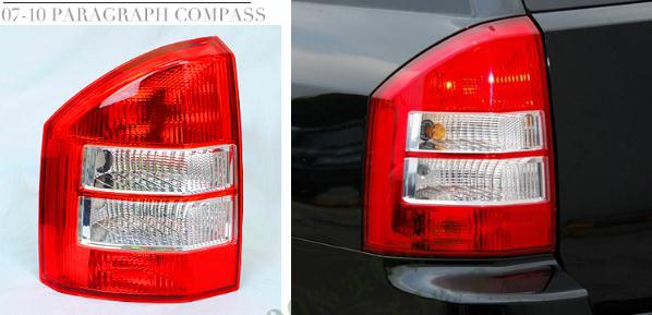 Replacement Parts for jeep compass external rear left drive right passenger side taillights brake lights 2007