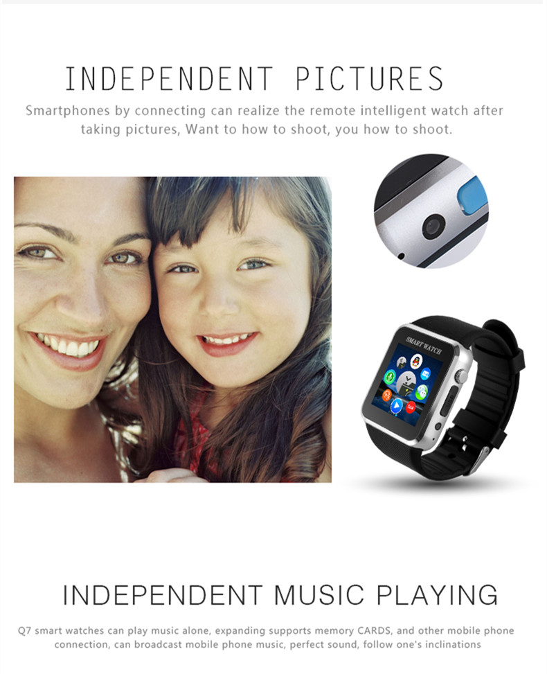 Hot-sell kid Smartwatch M07-Two-way calling-support ios & Android/ Bluetooth, facebook, Twitter, Wechat//fashional gift(China (Mainland))