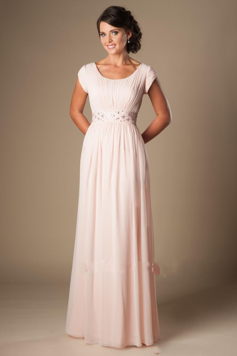 Online Get Cheap Modest Blush Bridesmaid Dresses -Aliexpress.com ...