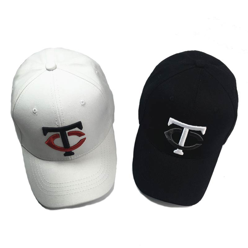 high quality embroidery letter font baseball cap men tc hat