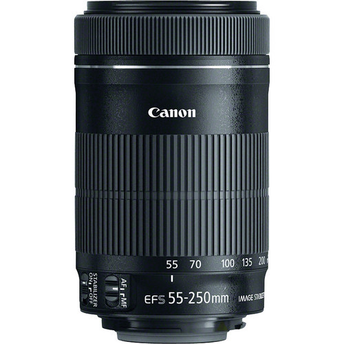 Genuine New Canon EF-S 55-250mm f/4-5.6 IS STM Lens for Canon 550D 600D 650D 700D 750D 760D 60D 70D 80D 6D 7D T3i T5 T5i T4(China (Mainland))
