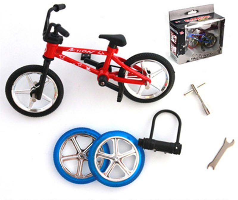 Excellent Quality bmx toys alloy Finger BMX Functional kids Bicycle Finger Bike mini-finger-bmx Set Bike Fans Toy Gift(China (Mainland))
