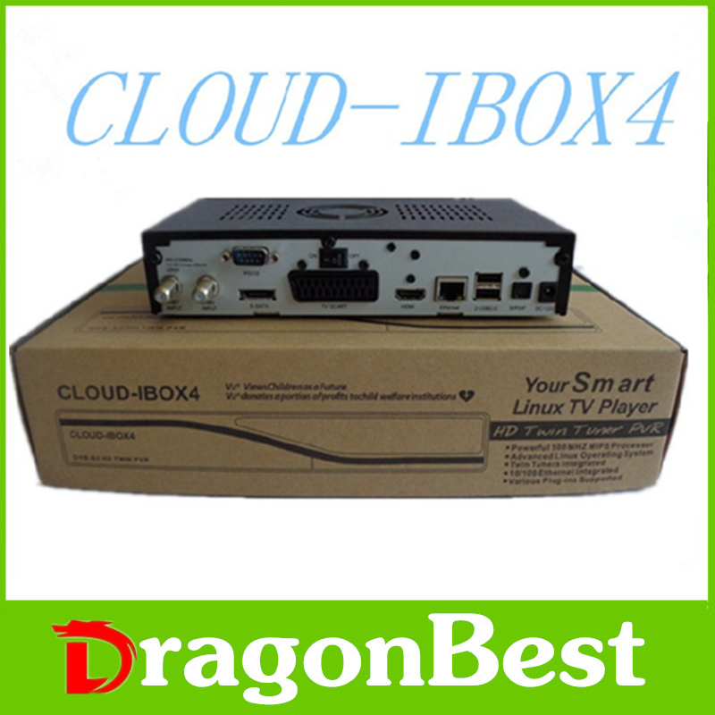 cloud ibox4 satellite receiver software download hd twin tuner cloud ibox 4 DVB-S2 Twin Tuner Linux Operating System free ship(China (Mainland))