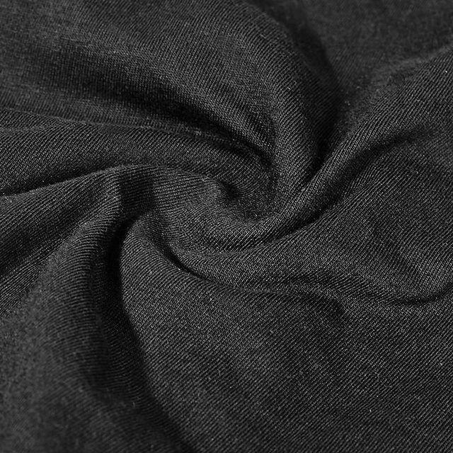 Black Brown Colour summer t shirt Steampunk mask style