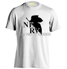 EVA Evangelion NERV logo Mens & Womens Summer style Print Pattern T Shirt
