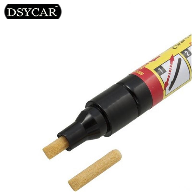 DSYCAR 1pcs Non Toxic Car Clear Coat Applicator Fix It Pro Car Scratch Repair Remover Pen Car styling for BMW Fiat VW Honda Ford(China (Mainland))