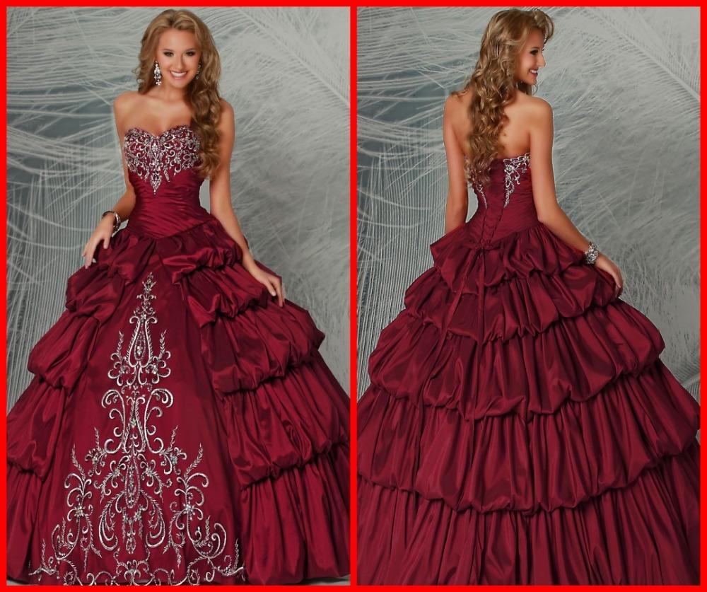 Colorful 2015 dulce Quineanera vestidos con cristal vestido de fiesta 15 años vestidos vestidos de noche formales barato bola ata para arriba detrás en