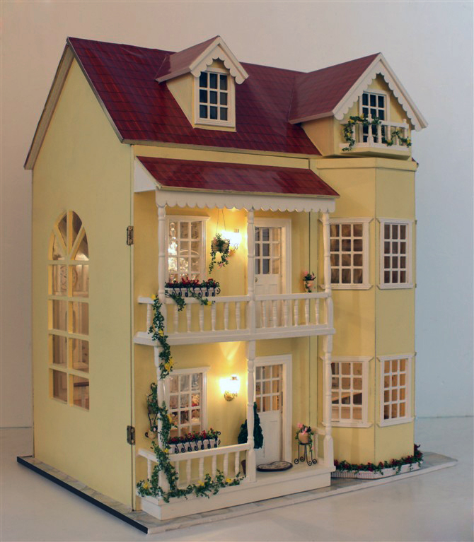 Compare prices on wood dollhouse online shopping buy low price wood dollhouse at factory price - The dollhouse from fairy tales to reality ...