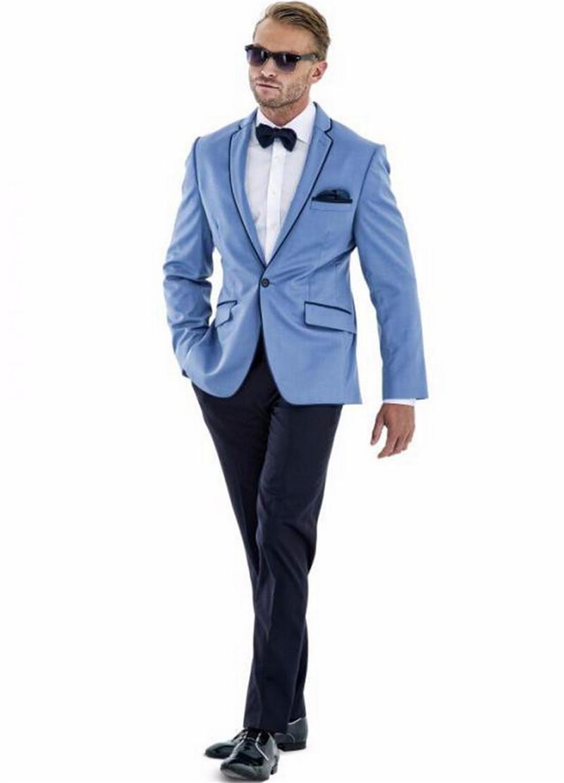 acheter personnalis un bouton costumes de mariage pour hommes 3 pe as veste. Black Bedroom Furniture Sets. Home Design Ideas