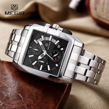 Buy Megir Business Stainless Steel Best Quartz Wrist Mens Watches Top Brand Luxury Army Clock Male Quartz-Watches reloj hombre 2016 for $25.90 in AliExpress store