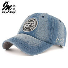 New arrival high quality snapback cap demin baseball cap 5 color Jean badge embroidery hat for men women boy girl cap B346(China (Mainland))