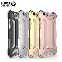 new R-JUST for iphone6 plus 5.5 Slim metal aluminum Shockproof Cover case for iphone 6s plus outdoor Armor anti-knock phone case