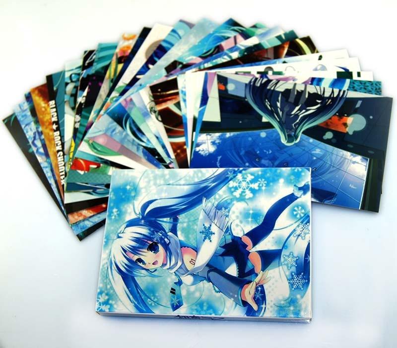 Поздравительная открытка H&L 48 . /hatsune Miku