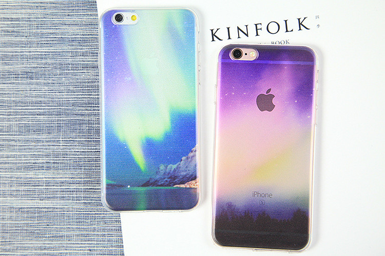 Fashion Ultra thin Soft silicon Mountain landscape London Tower scenery case for iphone 5s se 6 6s Plus Luxury Transparent Cover