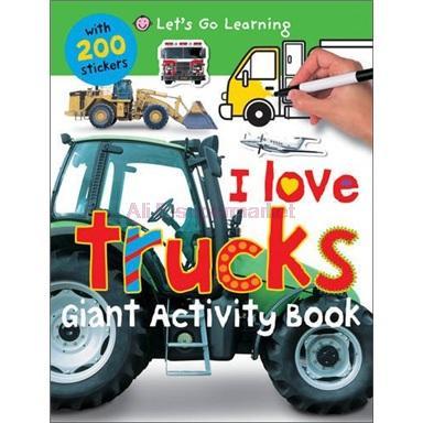 Let's Go Learning Giant Activity: I Love Trucks(China (Mainland))
