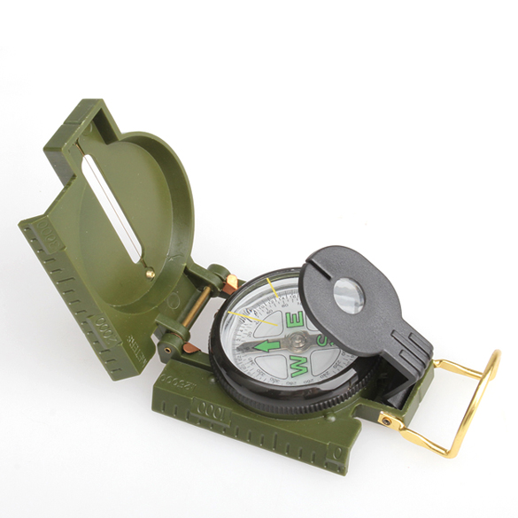 Folding Lens Compass American Military Multi-function New NVIE B2C Shop(China (Mainland))