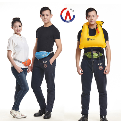 Professional inflatable lifejacket adult swimming snorkeling fishing vest pocket lifejacket buoyancy portable clothes(China (Mainland))