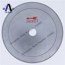 8 » 200 mm estaño hoja de disco de corte de diamante / lapidaria diamante hoja de sierra cortar la piedra preciosa cristal / Jade / ágata / Crystal / carbón etc