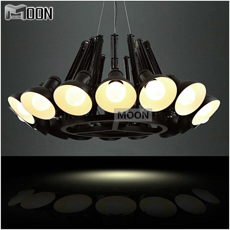 Modern Black Pendant Light Lamp Black Suspension Hanging