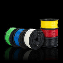Full colors 3d printer filament ABS PLA 1.75mm 1KG Plastic Rubber Consumables Filament Material MakerBot/RepRap/UP/Mendel