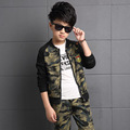 Children Clothing Sets For Boys Camouflage Sports Suits Autumn Kids Tracksuits Teenage Boys Sportswear 6 8