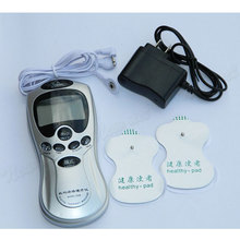 New Arrival Health Herald Electronic Digital Pain Relief Body Therapy Pulse Massager Machine Healthy Pad Free