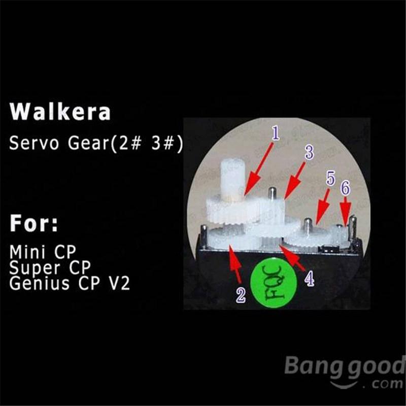 Walkera Servo Gear for Mini CP/Super CP/Genius CP V2(China (Mainland))