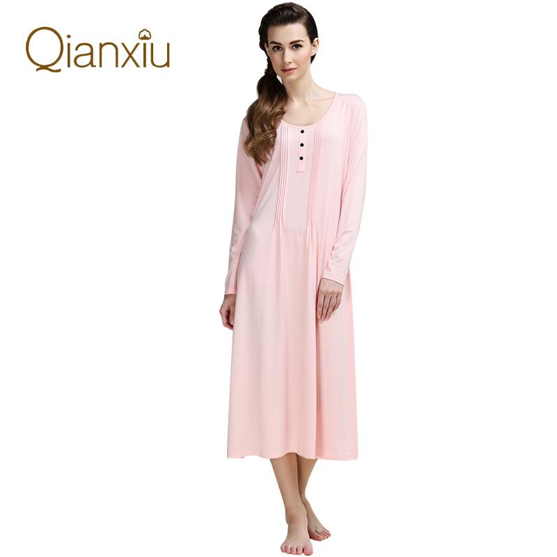 High Quality Kintted Mid Calf Sleepwear Women Plus Size ...