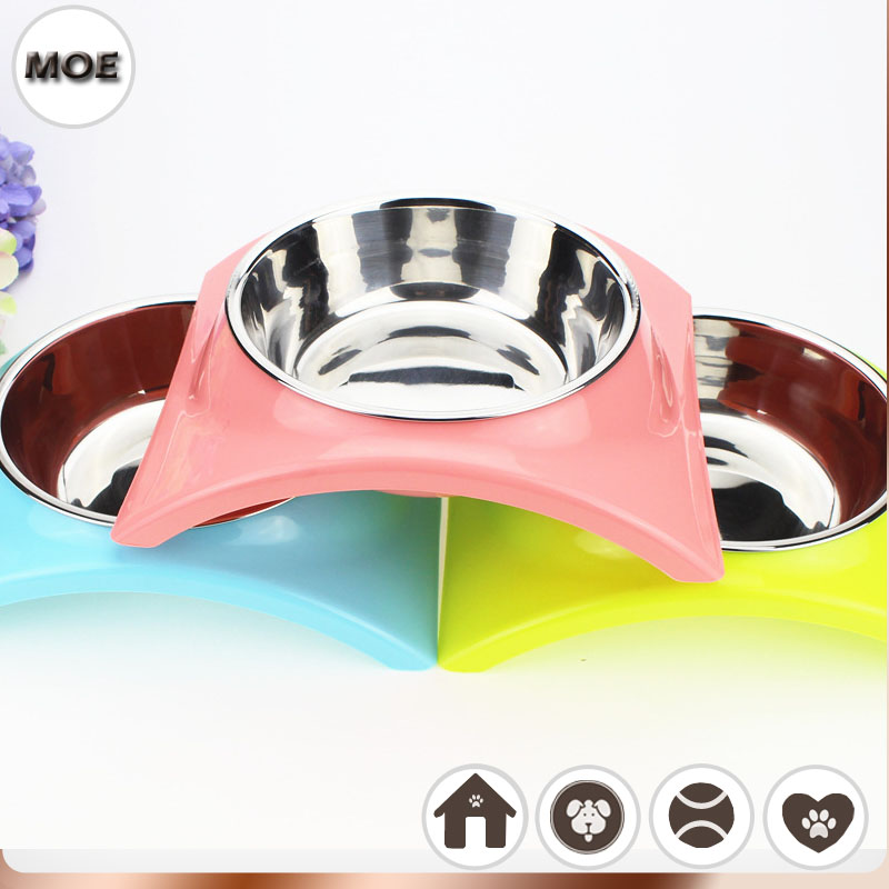 2017 High Quality Pet Products Stainless Steel Small Dog Food Water Bowl(Cambodia)