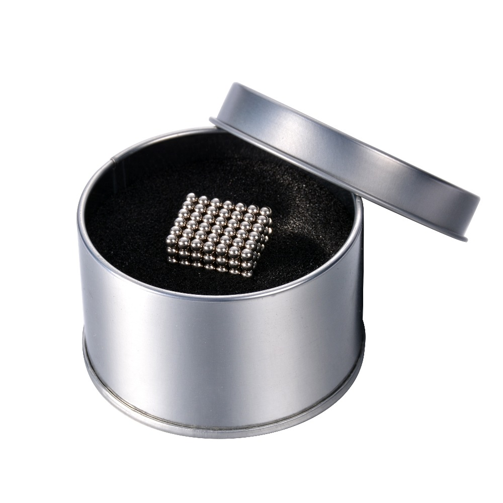3mm Multi-Molding with Original box 216 Pcs Neodymium Magnetic Balls Silver Color Magic Cube Balls Education Toys(China (Mainland))