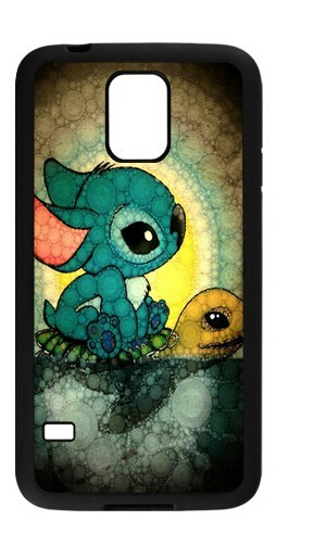 Funny Cute Cartoon Lilo and Stitch Cell phone case for samsung galaxy note 3 n900 s3 s4 s5 s6 9200 s6 edge(China (Mainland))