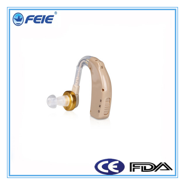 free shipping bulk buy from china rechargeable Elderly Cheap Hearing Aid BTE for helping deafness C-108(China (Mainland))