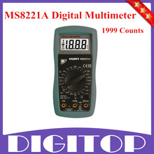Hot Sale Professional MS8221A 1999 Counts DIGITAL MULTIMETERS Free Shipping