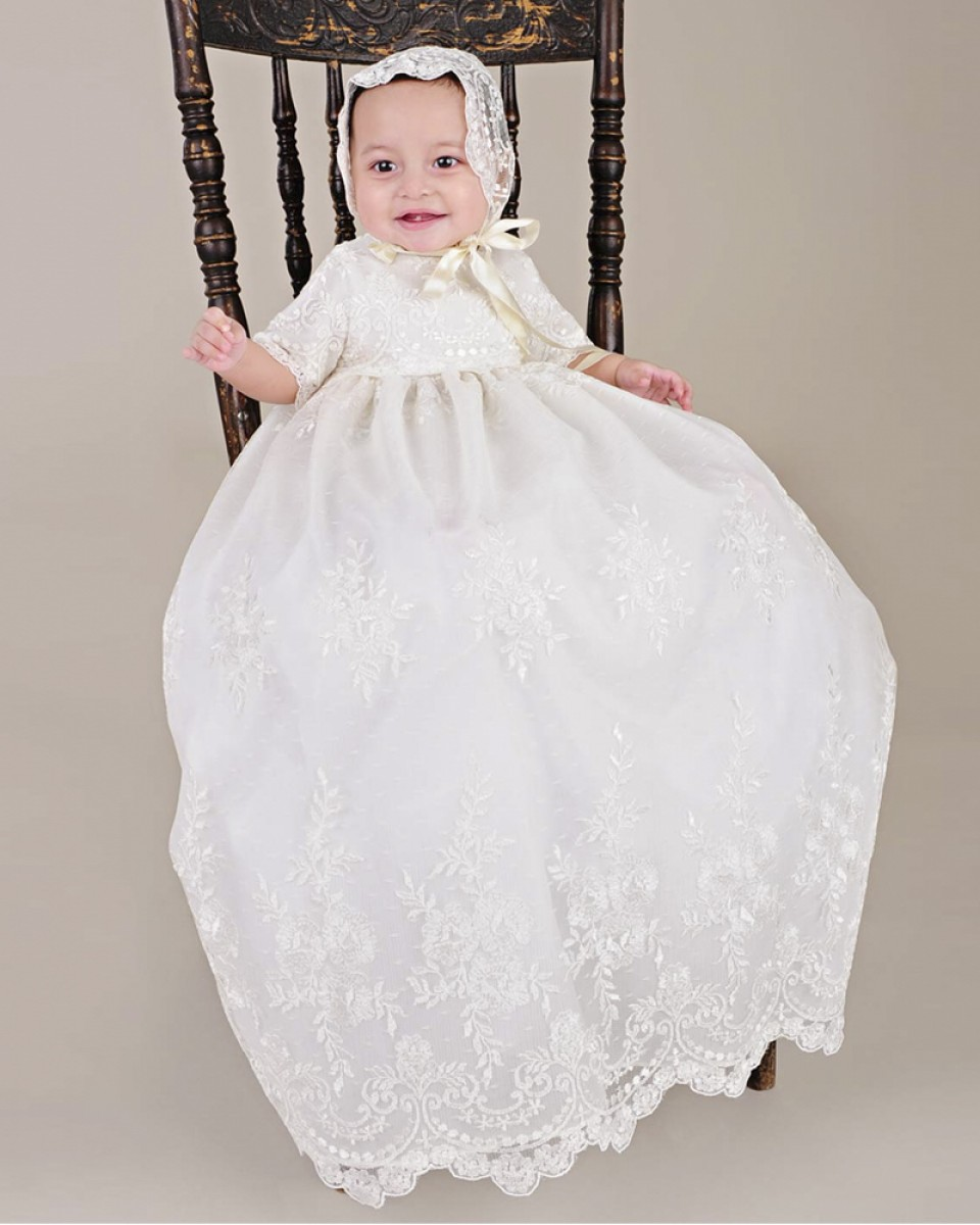 Free shipping on christening gowns, baptism gowns, outfits, shoes & accessories at janydo.ml Shop the best brands. Free shipping & returns.