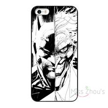 For iphone 4/4s 5/5s 5c SE 6/6s 7 plus ipod touch 4/5/6 back skins mobile cellphone cases cover Marvel Comics Batman