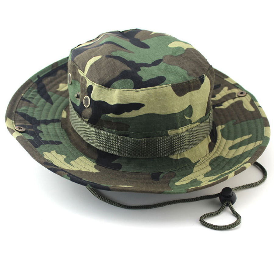 Popular camouflage bucket hat buy cheap camouflage bucket for Camo fishing hat